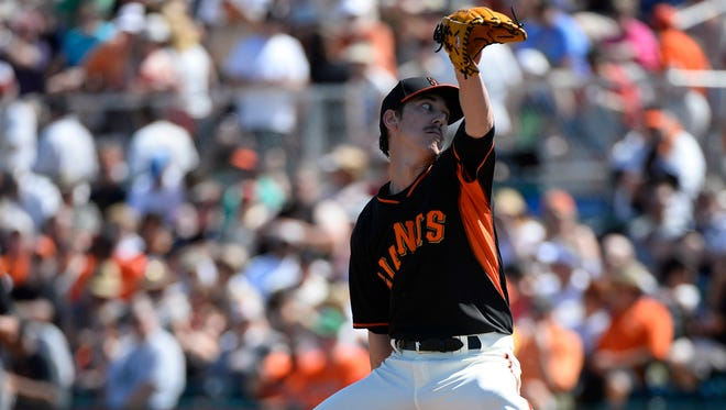 Tim Lincecum struggled last season going 10-14 with a 4.37 ERA.