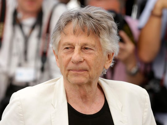 Director Roman Polanski at Cannes on May 17, 2017.