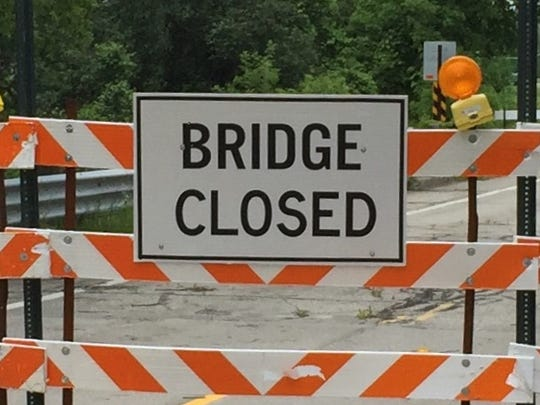 The St. Clair Highway bridge over the Belle River has been closed about a year.
