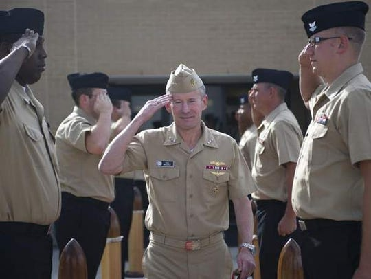 Vice Adm. Ted Branch, deputy chief of naval operations