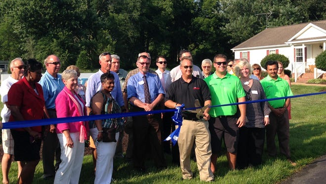 Coastline Chemical Inc. in New Church held a ribbon-cutting ceremony June 23 to celebrate its recent expansion.