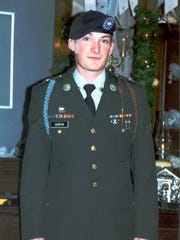 Cpl. Michael E. Curtin graduated from Army basic training two days after the Sept. 11 attacks.