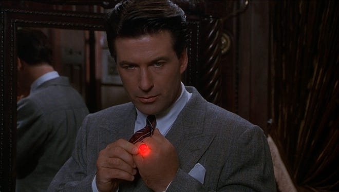 """Alec Baldwin stars as '30s playboy Lamont Cranston, aka vigilante """"The Shadow,"""" available in a new Collector's Edition Blu-ray from Shout! Factory on Feb. 25."""
