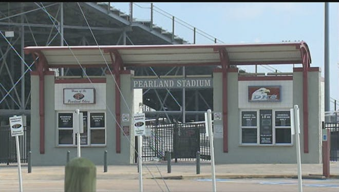 A pilot's mistake caused more than 350 members of the Pearland High school marching band to be doused with pesticide.