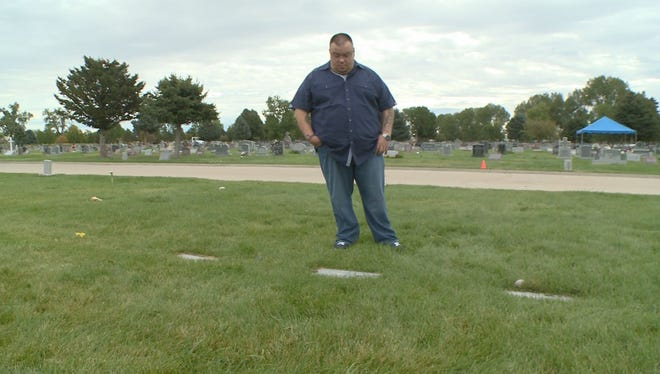 A Westminster man recently learned the grave he had been visiting for seven years was not that of his stillborn son.