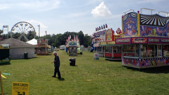 A snapshot from the Warren County 4-H Fair on June 19, 2014.