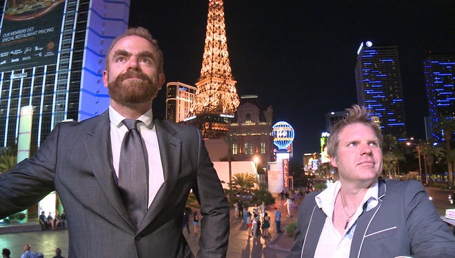 Justin Oswald and Chad Hardy created Las Vegas: The Game, a new company offering group outings to prank your friends, boss or group with once-in-a-lifetime Vegas experiences.