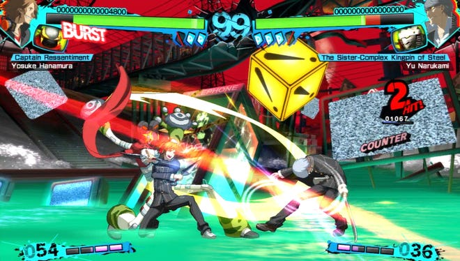 Persona 4 Arena Ultimax features old-school 2D-style fighting with hand-drawn sprites.