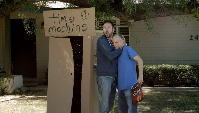 """A still image from """"Time Machine,"""" a finalist ad in the Doritos """"Crash the Super Bowl"""" ad competition, now vying for the $1 million cash prize."""