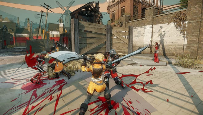 A scene from the free-to-play game Battlecry, launching on PCs in 2015.