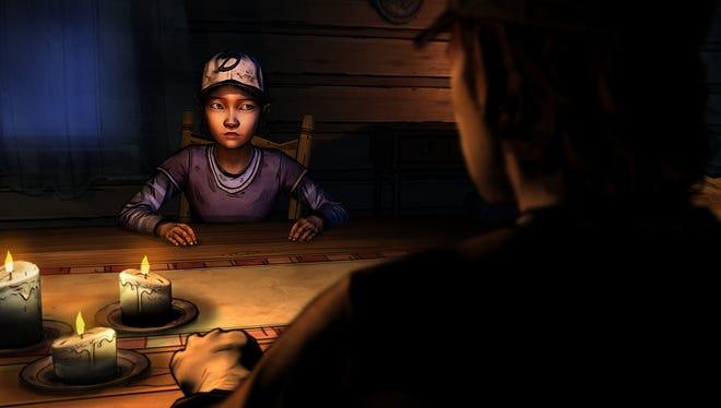A scene from season two of 'The Walking Dead.'