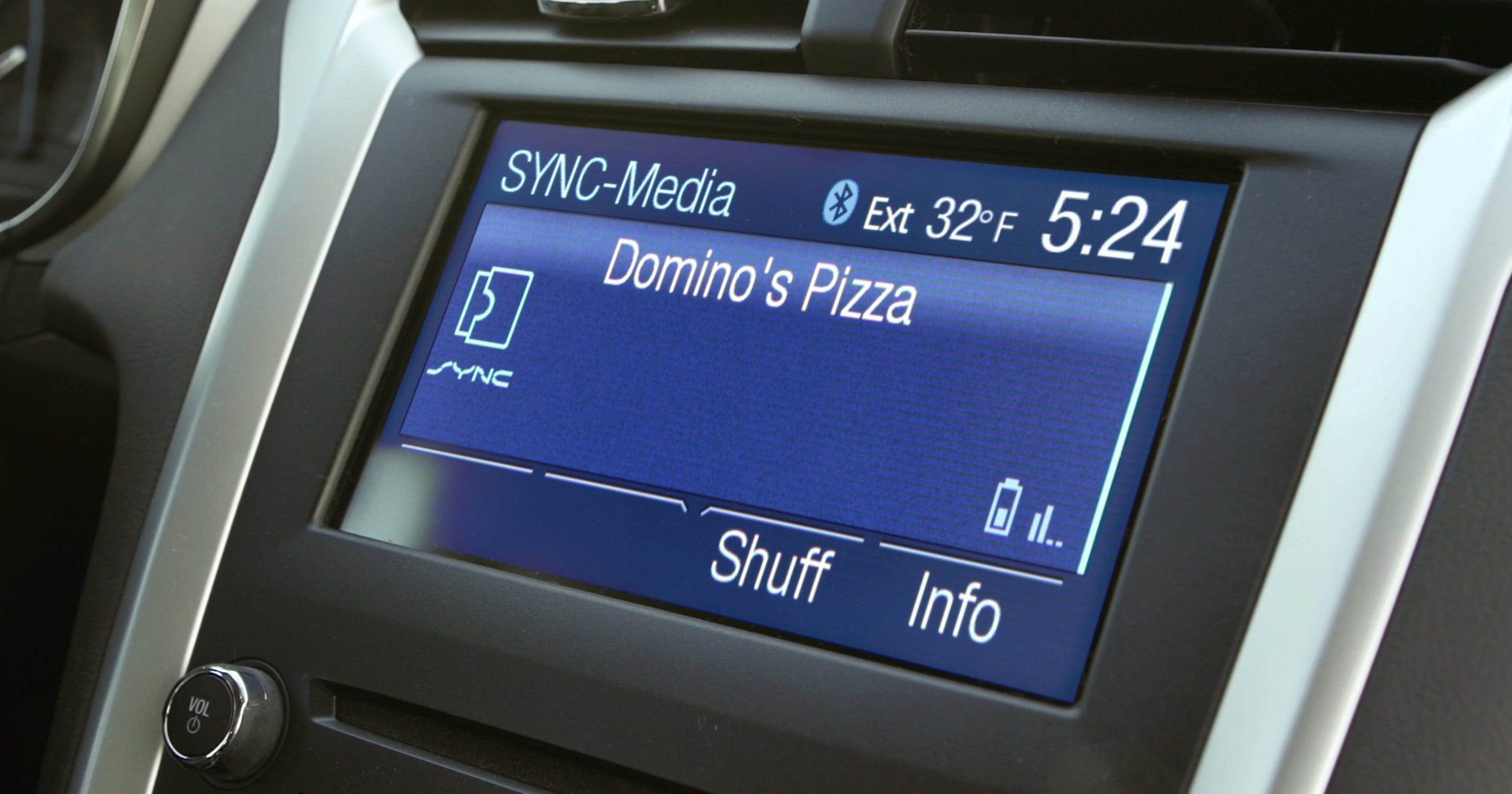Order pizza from your car — hands-free