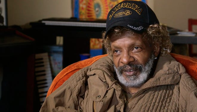 The legendary and reclusive Sly Stone say for filmmaker and journalist Nelson George, whose 'Finding the Funk' puts a spotlights on Stone's contributions to the genre