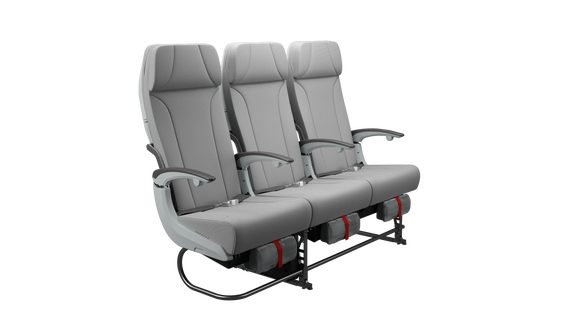 Finnair A350 XWB Economy class seat-1