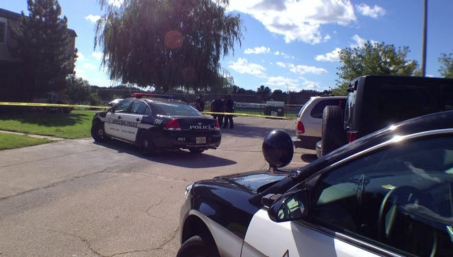 Appleton police are investigating an incident at an apartment complex on North Lawe Street.
