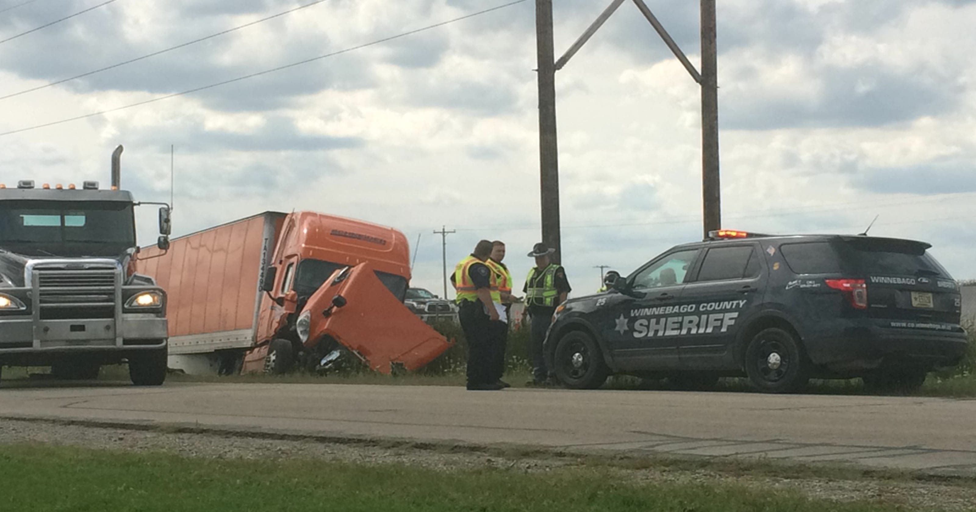 U S  41 reopened after crash near Highway 26