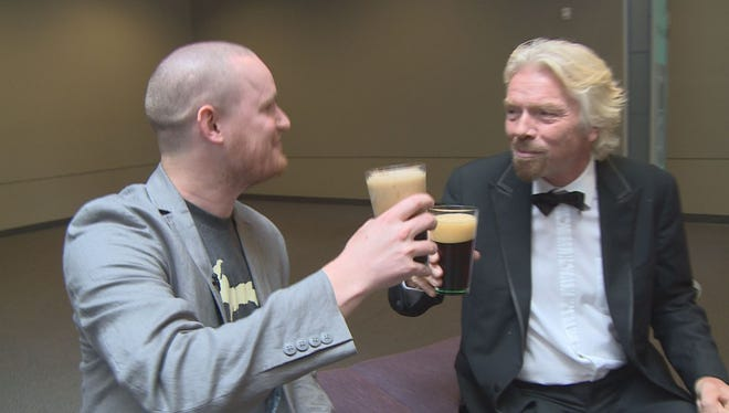 Michigan man gets to have a beer with Sir Richard Branson.