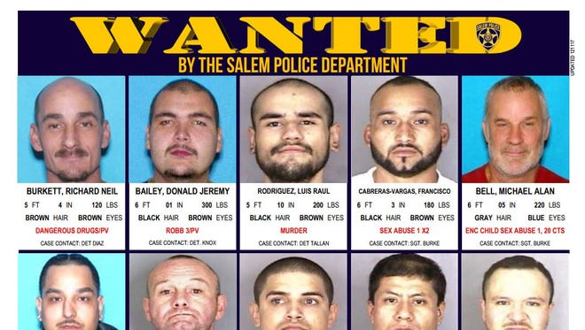 Have you spotted Salem's most wanted criminals?