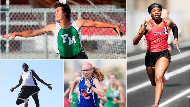 The march to the state track and field competition has begun for Southwest Florida high school athletes. District finals are the first of many hurdles. Who will notch personal bests? Which team will claim glory? Go to news-press.com for updates.