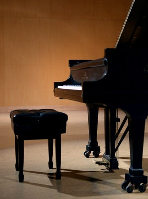 Wideman piano competition at Centenary College.