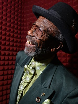 Eddy Giles now serves as a pastor and local radio personality at KOKA, but in the 60's performed as a blues singer.