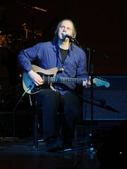Singer/musician Tom Verlaine, who moved to Delaware at the age of 6 with his family,  performs at the 2008 Tibet House Benefit Concert at Carnegie Hall in New York.