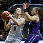 Purdue Women Squeak Past Northwestern 63-60