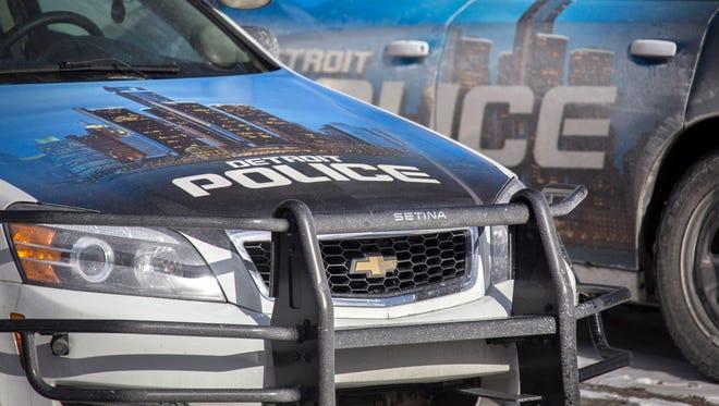 Detroit Police Department cars.