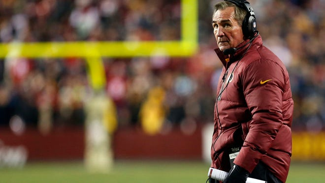 Redskins coach Mike Shanahan is firmly on the hot seat.