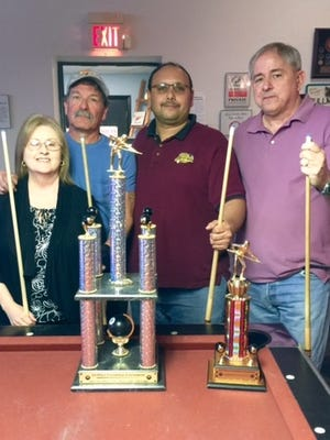 The Friendship Pool Tournament was held on Jan 23, 2016 at the Moose.  Taking First Place was Ed Chavez and Joyce Wagner from the American Legion. Second Place was Joe Herrera and Paul Moose from the Eagles.