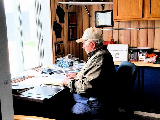 Longtime dairyman Warren Allen, Green Bay, worries about the future of the family dairy.