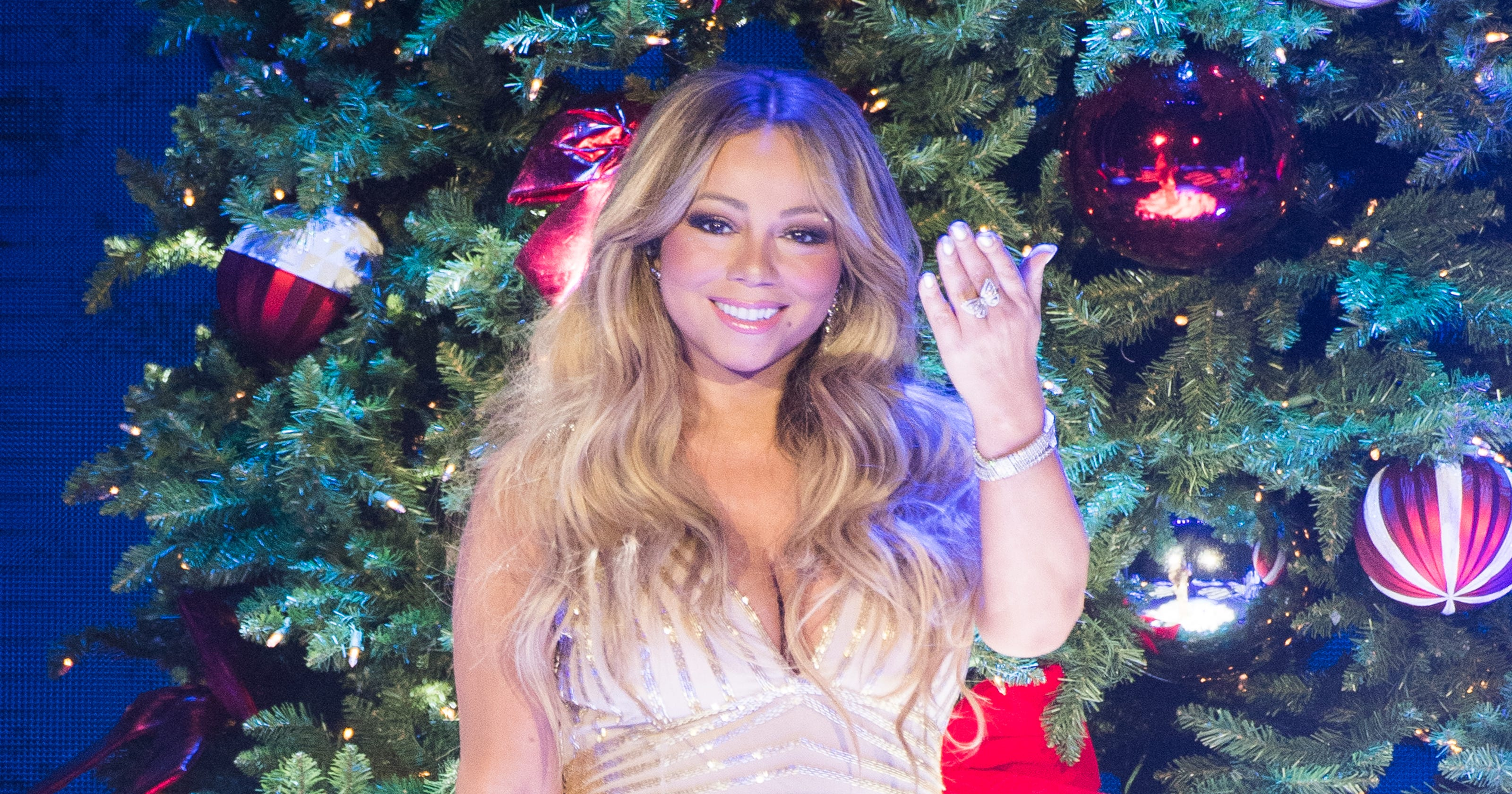 Christmas: How Mariah Carey, Jennifer Lawrence, more stars celebrated