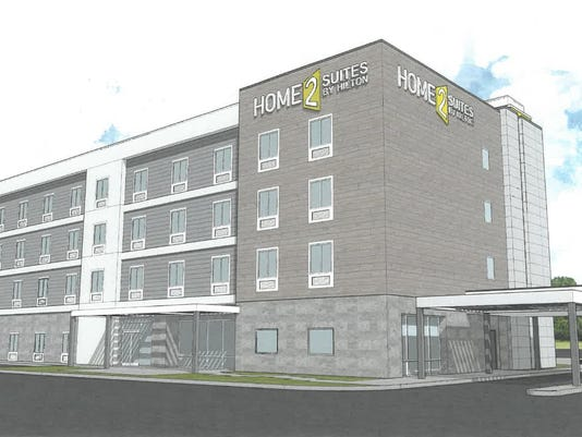 Wayne Hilton hotel rendering