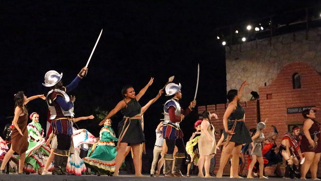 """Viva! El Paso"" performances take place at 8 p.m. Fridays and Saturdays through July 29 at the McKelligon Canyon Amphitheatre."