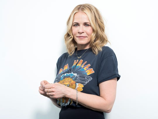 In this April 26, 2016 photo, Chelsea Handler poses