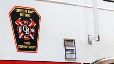 Green Bay Metro firefighters were called to the Zeise Avenue home shortly after 7 p.m. Monday.