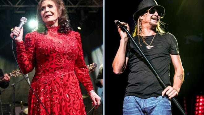 Loretta Lynn and Kid Rock announced they got married over the weekend on social media.