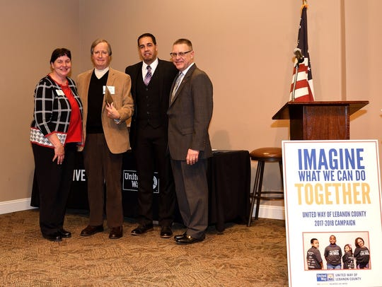 (From left) Rene Numer, United Way Board of Directors