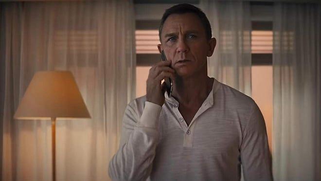 "Daniel Craig in, ""No Time to Die."""