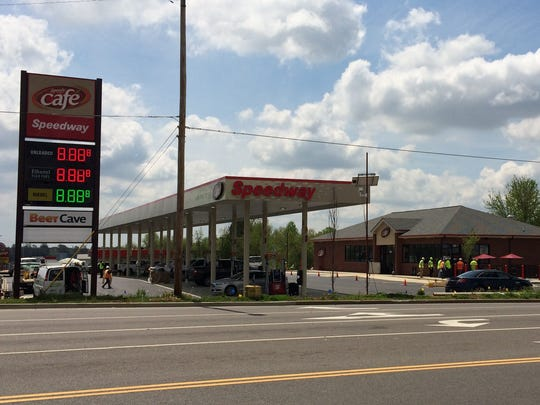 The Speedway in Dickson at the corner of Highway 46 and Beasley Drive is expected to open next week.