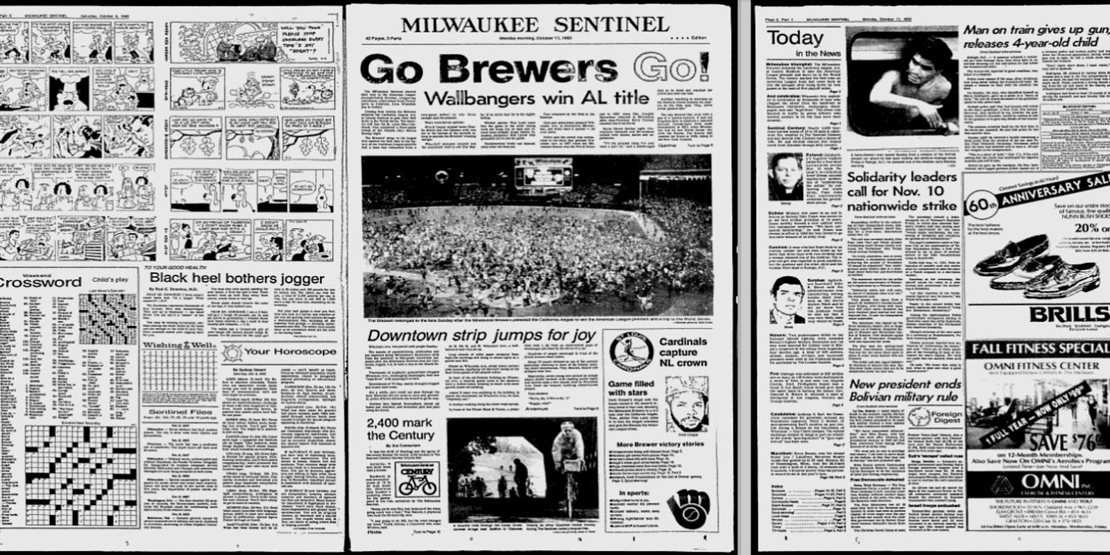 Sentinel newspaper archives ...
