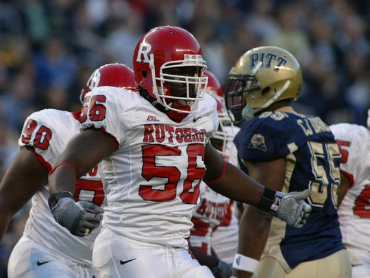 Rutgers defensive tackle Eric Foster was a two-star recruit in 2003 who was an All-American by the end of his career.