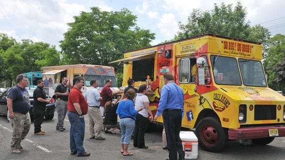 Food trucks will be lining up at The Promenade to benefit the Food Bank of South JErsey.