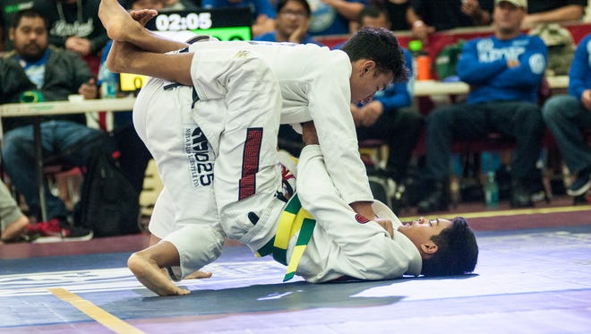 Scenes and action from last year's Copa de Marianas Jiu-jitsu Championship.