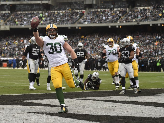 Evan Siegle / USA TODAY NETWORK-Wisconsin Former Packers