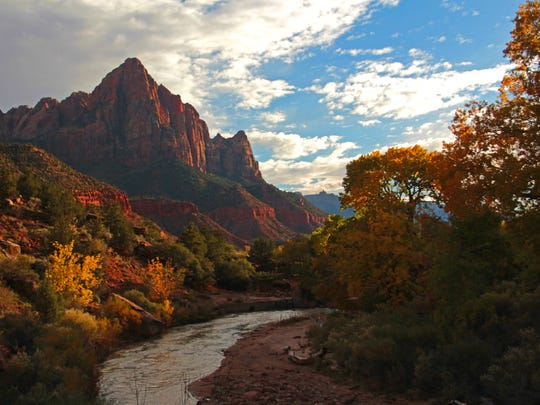 Zion National Park in Utah, with some 4.3 million visitor in 2018 and 12 law enforcement rangers, is one of many national parks across the country sending rangers to the U.S.-Mexico border to assist the Border Patrol will illegal immigration.