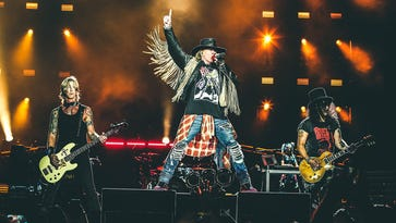 Tiempo entertainment calendar features Guns N' Roses, Labor Day events