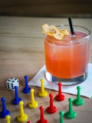 Parcheesi Punch from Snakes & Lattes board game cafe.