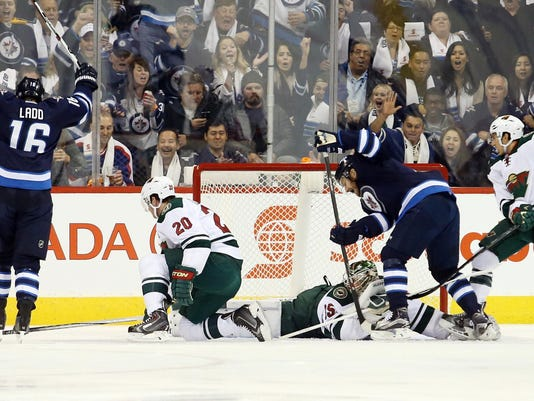 NHL: Minnesota Wild at Winnipeg Jets