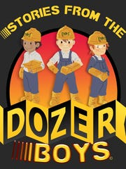The HandTrux team is developing an animated cartoon called Dozer Boys.